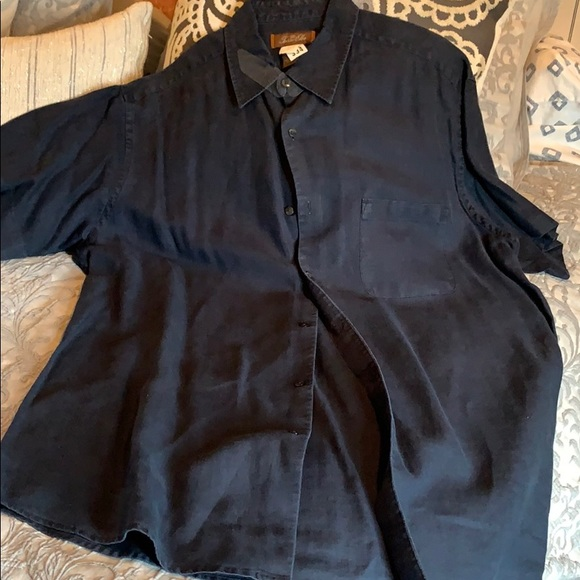 Tasso Alba linen shirt